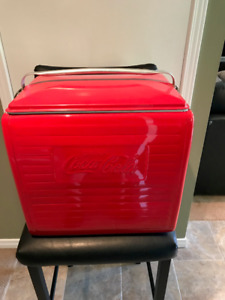 Vintage Coke Cooler 1940/50s Professionally Painted