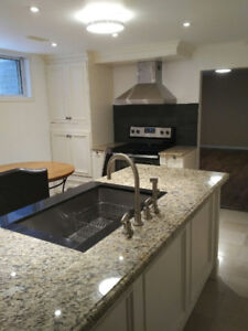 2 Bedroom basement apartment & parking for rent in Richmond Hill
