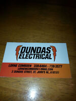 Master electrician with 45 years experience