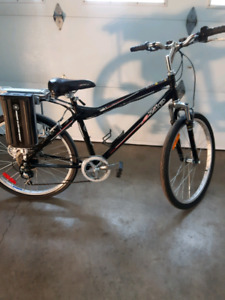Bicyclette a batterie