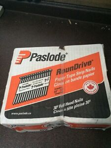 Paslode air spikes