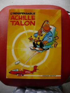 L'INDISPENSABLE ACHILLE TALON BANDE DESSINÉES ( VINTAGE 1971 )