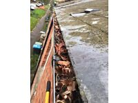 Gutter cleaning £40