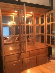 Dining Table With China Cabinet Edmonton Edmonton Area image 4