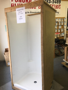 """36""""X36"""" Shower Stalls Available for $399.00 Each"""