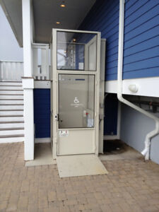 In Search Of a Used Exterior Home Elevator/Lift