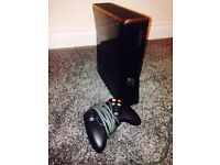 Xbox 360 black 250gb elite with wireless controller and Fifa 16