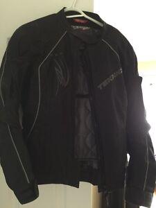 Teknic Sequoia womans motorcycle jacket / manteau de moto femme