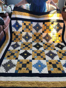 hand quilted queen/king