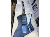 Gibson Firebird VII with Lyre Tail Vibrola in stunning Blue Mist