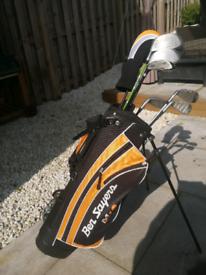 Boy golf clubs