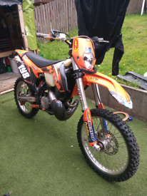 KTM 250 XC EXC enduro Motocross bike