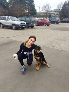 Active Female Pet and House Sitter