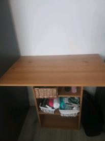 Desk, dresser
