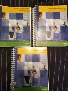 Insurance textbooks for sale!