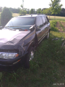 2004 Oldsmobile Bravada SmartTrak parts vehicle