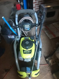 Nearly new gas pressure washer