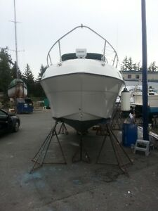 24 ft Cabin Crusier and trailer for sale
