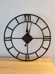 Metal Clock - $20