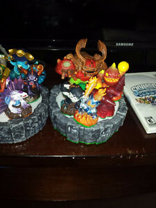 like new skylanders figures and 2 portals wired & wireless Cambridge Kitchener Area image 6