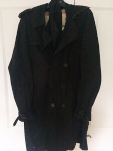 40R AUTHENTIC Burberry Nylon Packable Trench
