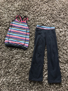 Ivivva Tank Top and Pants - Size 6