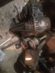 Ford transfer case,axles and front diff
