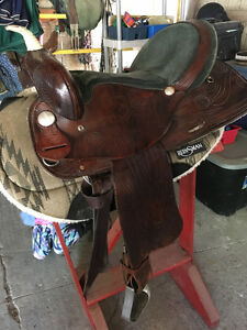 16 inch HH trail saddle for sale