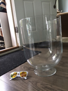 HUGE Glass Vase / Bell Jar / Terrarium / Cloche