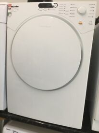 Miele White 7kg vented tumble dryer