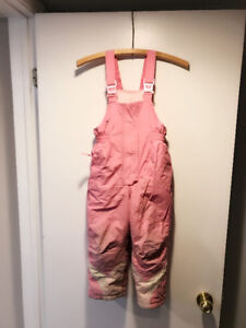 Toddler girl's snow pants, 4T
