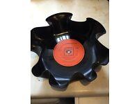 Up-cycled Vinyl Bowl