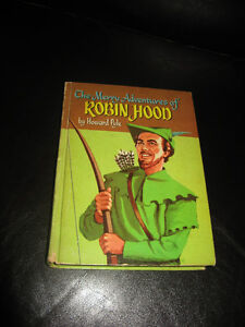 The Merry Adventures of ROBIN HOOD Whitman collectible - 1955