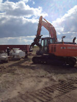 Excavating, Yard Cleanup, Demolition, Equipment Hauling, Brushin