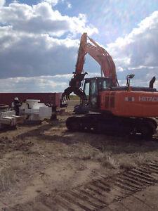 Excavating, Yard Cleanup, Demolition, Equipment Hauling, Brushin
