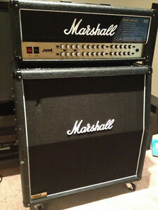 Marshall JVM 410H and 1960 Lead Cab