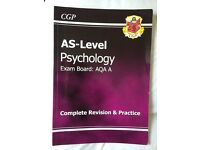 AS-Level Psychology AQA Complete Revision and Practice