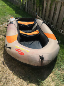 Estate sale.....North X Northwest  Aquarius 896  Inflatable Boat