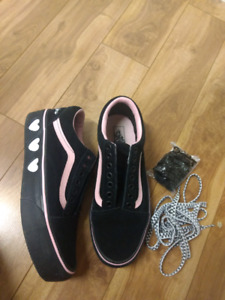 908ec40aa86 PLATFORM LAZY OAF X VANS SHOES