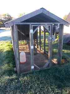CHICKEN COUPE  OR RABBIT CAGE