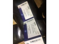 2 x Drake tickets seated block 107 15th Feb last London date!