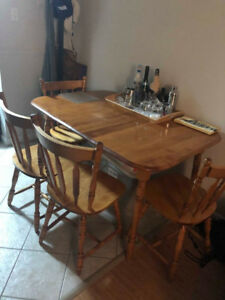 Table & 4 Chairs - $125 OBO