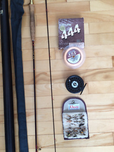 The Islander 7ft 9in fly rod (accessories incl.)