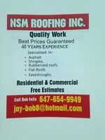 HIRING ROOFERS FOR BUSY CO. CASH PAID DAILY! Imm START!
