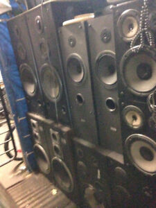 Old Speakers $50+up each at Great Pacific Pawnbrokers