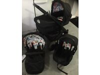 Kidicorture willz pram travel system possible delivery