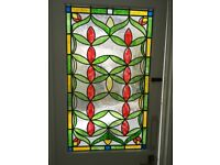 Stained glass External Victorian door
