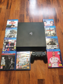 Ps4 pro 1tb mint condition