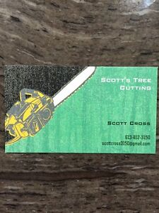 Scott's Tree Cutting