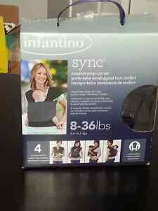 Infantile sync baby carrier